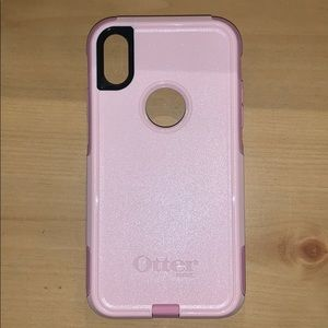 brand new pink otter box iPhone XR case
